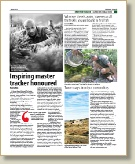 the tracker academy in features in SANParks Times