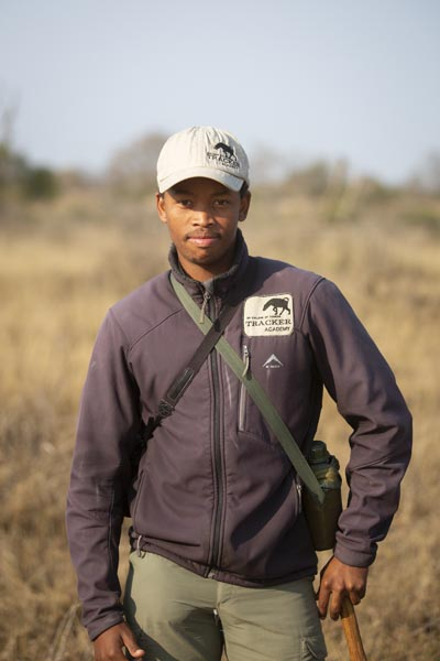 Tracker Academy Student, Enrico Afrika